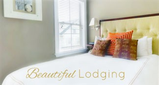 Beautiful Lodging button