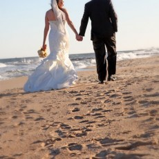 Ocean Grove wedding on the beach